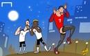 Góc biếm họa Euro 2016: Bất ngờ từ đội bóng nhỏ
