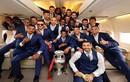 Ronaldo và đồng đội lịch lãm mang cúp Euro 2016 về nước