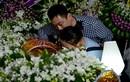 Con gái Quang Lý về nước khóc nức nở bên linh cữu cha