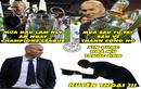 Ảnh chế bóng đá: Zidane khiến cả thế giới bái phục