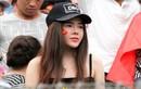 Những bóng hồng CĐV U23 Việt Nam nóng bỏng trên khán đài