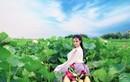 Nữ sinh Hải Phòng hóa tiên nữ chụp ảnh bên hồ sen gây sốt mạng