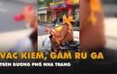 Video: Người đàn ông vác kiếm, chạy xe máy gầm rú trên đường