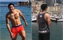 Khoe body ở Monaco, Đoàn Văn Hậu bị soi điểm này trên cơ thể