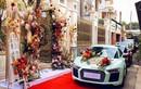 Dàn siêu xe trong lễ rước dâu ở Đồng Nai gây choáng váng