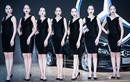 """""""Bỏng mắt"""" ngắm chân dài tại triển lãm ôtô Bangkok 2017"""