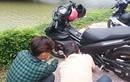 """Xe máy Yamaha Exciter 150 bị đổi màu sơn """"kênh giá"""""""