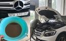 """Xe Mercedes-Benz GLC bị nước """"chui"""" vào vi sai trước"""