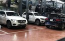 Dàn xe sang Mercedes GLC kiểm tra nước vào vi sai ở Hà Nội