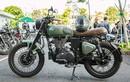 Xe môtô giá rẻ Royal Enfield Classic 500 độ chất ở Sài Gòn