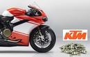 KTM muốn thôn tính Ducati với số tiền 1.5 tỷ Euro