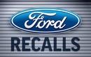 Hàng loạt xe ôtô Ford nguy cơ bung cửa khi đang chạy
