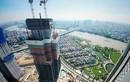Cận cảnh tòa nhà cao nhất Việt Nam vừa cất nóc