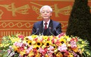 Tổng Bí thư Nguyễn Phú Trọng phát biểu tại lễ ra mắt BCH Trung ương khóa XII