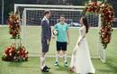 Ảnh cưới mùa World Cup của cô dâu Việt và chàng Pháp mê bóng đá
