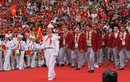 CĐV hân hoan đón đoàn thể thao Việt Nam từ Asiad 2018 trở về trong lễ vinh danh