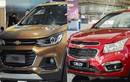 Chevrolet Trax ế thảm, Chevrolet Cruze bán chạy... vẫn thua Mazda 3