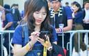 """Dàn CĐV nữ Thái Lan """"siêu xinh"""" đổ bộ SVĐ Mỹ Đình"""