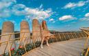 Cầu Vàng Đà Nẵng xuất hiện ở Đà Lạt