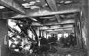 Hiện trường máy bay ném bom đâm thủng nhà chọc trời Mỹ 1945