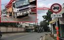 Xe bơm bê tông đi vào đường cấm cán chết người ở TP Thủ Đức
