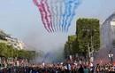 Video: Máy bay phản lực trình diễn tuyệt đẹp mừng nhà vô địch World Cup 2018