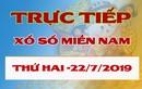 Trực tiếp kết quả xổ số miền Nam 22/7 – XSMN 22/7 thứ 2 hôm nay