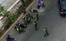 Vụ Tiến sĩ Bùi Quang Tín rơi lầu tử vong: Công an phong toả, dựng lại hiện trường