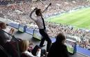 Tổng thống Pháp ăn mừng điên cuồng trước mặt ông Putin