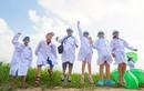 """Học sinh hào hứng tự """"khám phá"""" hành trình sữa học đường Vinamilk"""