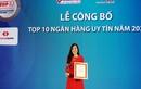 Techcombank tiếp tục là ngân hàng TMCP tư nhân uy tín nhất Việt Nam