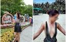 """Người phụ nữ """"thả rông"""" vòng 1 tiếp tục """"lộng hành"""" khắp Sài Gòn"""