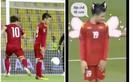 """Quang Hải bật chế độ """"đứng hình"""", netizen chế ảnh bóng đá """"cực hài"""""""