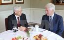Tổng Bí thư Nguyễn Phú Trọng thăm cựu TT Mỹ Bill Clinton