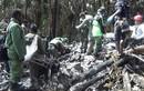 Hiện trường vụ máy bay Indonesia rơi xuống núi