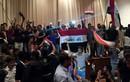 Hàng nghìn dân Iraq xông vào tòa nhà quốc hội