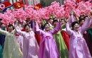 Hình ảnh dân Triều Tiên hào hứng tham gia diễu, duyệt binh
