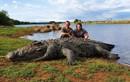 Phát hiện cá sấu khổng lồ 5,4 mét chết bí ẩn