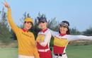 Golfer Ngọc Hân vẫn đẹp rạng ngời trong trang phục khoẻ khoắn