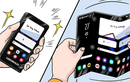 Soi cận cảnh tablet ba màn hình gập của Samsung sắp ra mắt