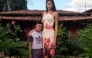 Cô gái cao hơn 2 m bị dị nghị vì lấy chồng thấp bé