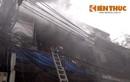 Hiện trường vụ cháy cửa hàng vàng mã ở phố cổ HN