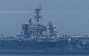 Choáng ngợp hình ảnh tàu sân bay Carl Vinson trên vịnh Đà Nẵng