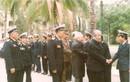 Tổng Bí thư Đỗ Mười với bộ đội Hải quân