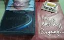 Phì cười bánh sinh nhật vợ dành tặng người chồng nghiện thuốc lá