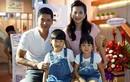 Hình ảnh gia đình Bình Minh hạnh phúc khiến ai cũng ghen tỵ