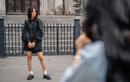 Giới trẻ diện váy ngắn chụp ảnh trong ngày rét 10 độ C