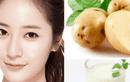 3 cách làm mặt nạ trị mụn chỉ với 1 củ khoai tây