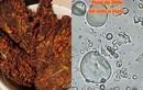 Soi bò khô siêu rẻ bán đầy ngoài chợ dưới kính hiển vi