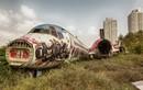 """Khung cảnh hoang tàn của """"Nghĩa địa máy bay"""" ở Thái Lan"""